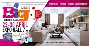 home design expo singapore 22 30 apr 2017 the big furniture fair at singapore expo sg