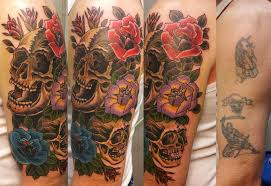 skull cover up design best ideas gallery