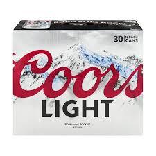 coors light on sale near me coors light beer cans 30 ct12 0 fl oz walmart com