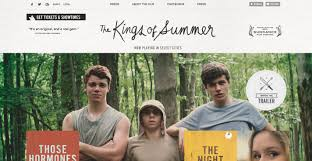 kings of summer the kings of summer tumblr site awwwards sotd