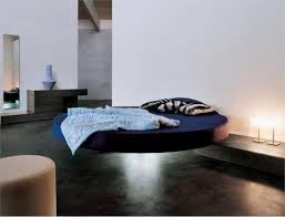 cool round floating bed fluttua c by lago digsdigs