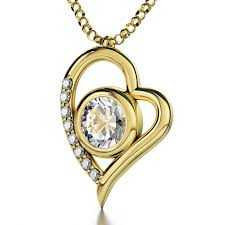 jewelry heart necklace images Gold plated heart jewelry heart jewelry jewish jewelry judaica jpg