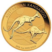 2018 perth mint australian kangaroo gold coin lowest price