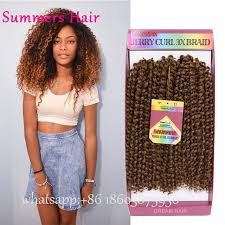 bohemian crochet braids bohemian curl synthetic hair braid glance 3x pre loop crochet