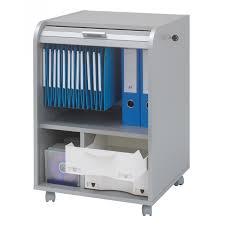 meuble caisson de bureau coloris alu simmob