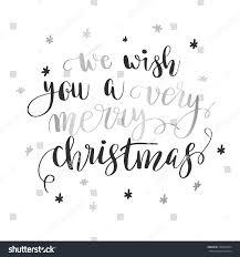 we wish you merry stock vector 520522024