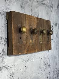 glass door knob coat rack union artisan custom furniture handmade in washington dc