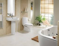vintage bathroom decoration with stone concept also white bath tub natural bathroom design