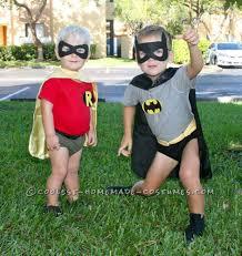 Batman Kids Halloween Costume Halloween Costumes Siblings Cute Creepy