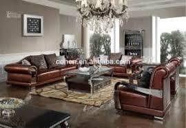 Luxury Leather Sofa Sets 2015 New Design Living Room Furniture Luxury Leather Sofa Sets
