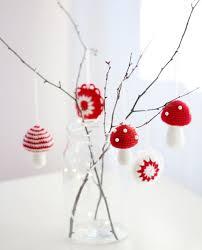 crocheted christmas crocheted christmas tree ornaments