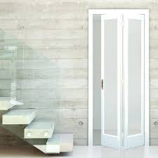 Folding Sliding Doors Interior Interior Folding Doors Interior Door White Primed Bi Fold Frosted