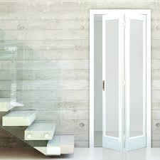 Wooden Bifold Doors Interior Interior Folding Doors Interior Door White Primed Bi Fold Frosted