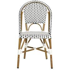 Plastic See Through Chair French Bistro Woven Chairs White Lane Decor