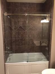 Shower With Door Shower Doors Enclosures Olathe Glass Home Decor Custom