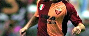 candela calciatore calcio partita tra vecchie glorie della roma organizzata allo