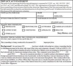 Counseling Chit Navy Form Image Gallery Navy Siq