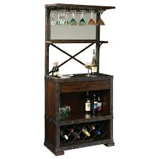 Home Bar Set by Howard Miller Red Mountain Wine Cabinet Wine Enthusiast