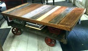 rustic coffee table with wheels industrial coffee table with wheels industrial coffee tables french