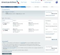 aa baggage fee 89 detroit to miami nonstop r t fly com travel blog