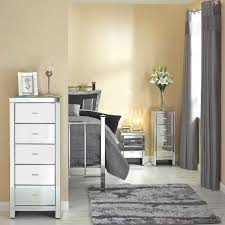 sunny mirrored bedroom furniture