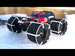 rc adventures floating traxxas summit ice chains u0026 floating rc