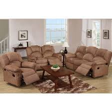 Microfiber Reclining Sofa Recliner Sofa Microfiber Saddle 3 Seater Only