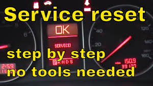 how to reset the service interval on audi a4 youtube