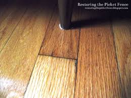Scratched Laminate Wood Floor Restoring The Picket Fence Simple Fixes Removing Scratches From