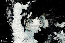 antarctica mappers turn eyes north pole