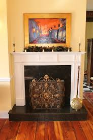 intricate granite fireplace custom home builder maryville