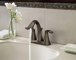 bronze faucets for bathroom amazon com moen 6410orb eva two handle centerset lavatory faucet
