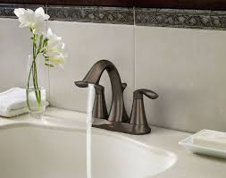 Moen Oil Rubbed Bronze Bathroom Accessories by Amazon Com Moen 6410orb Eva Two Handle Centerset Lavatory Faucet