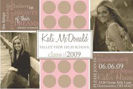 Graduation Invite Cards Top 17 Cute Graduation Invitations For Your Inspiration