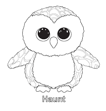 beanie boo penguin coloring pages printable coloring sheets