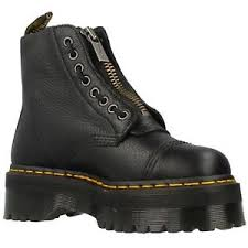 womens boots ebay dr martens sinclair black womens leather platform combat boots ebay