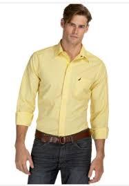 15 yellow dress shirt ideas for men