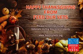 hungry veterans on thanksgiving feed our vets
