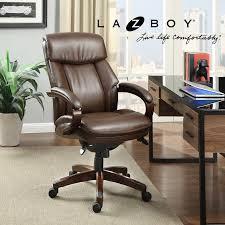 la z boy executive leather office chair
