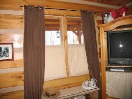 Half Window Curtains Window Rustic Cabinet Childcarepartnerships Org