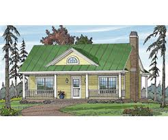 Small Cottage Plan with Small House Plans