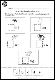 beginning sounds worksheets and activities little dots education