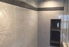 Tiled Wall Boards Bathrooms - 3 steps to add trim and borders to diy shower wall panels