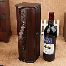 gift packaging for wine bottles yzl antique wine gift box single skin box wooden