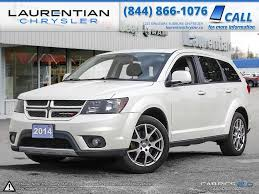 pre owned 2014 dodge journey r t leather sunroof nav