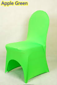 universal chair covers wholesale apple green colour lycra universal chair cover for wedding