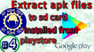 how to install apk to sd card how to extract apk files on sd card from android installed from