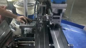 ceiling fan blade reveteing machine youtube