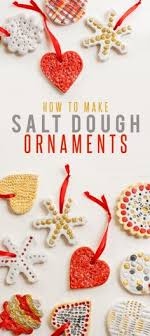 glaze salt dough ornaments and dough ornaments on