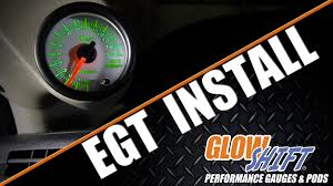 how to install an egt gauge youtube